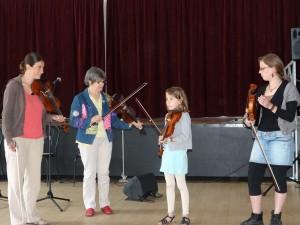 Atelier de violon de Y. Rouget