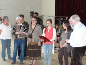 Atelier de Chant Gallo de S. Le Foll - photo SKV
