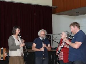 Cours de Clarinette de S. Le Foll - Photo SKV