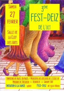 Affiche Fest Deiz OCT